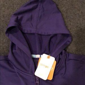 Gymboree Shirts & Tops - Gymgo Purple Zip-Up Hoodie